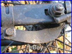 08e20 Ancien Vélo De Réquisition Allemand Avec Plaque Feldgendarmerie 1940 Ww2