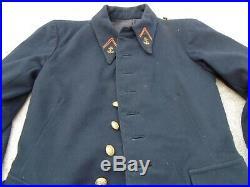 1930 1940 Tenue Coloniale Francais Veste Pantalon Kepi Fourragere Colonial