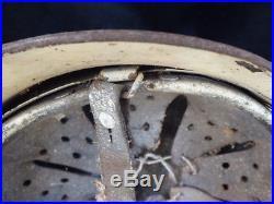 1939 1945 Allemagne casque camouflé 1935 impacté