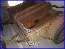 2 remorques jeep+chassis ford+ lot de pièces