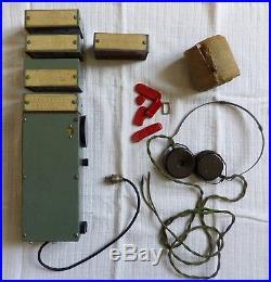 2e Radio Récepteur MCR-1 Biscuit résistance SOE FFI SAS 1944 Midget parachutage