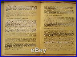 2nde guerre mondiale 39-45 document propagande aux paysans de France