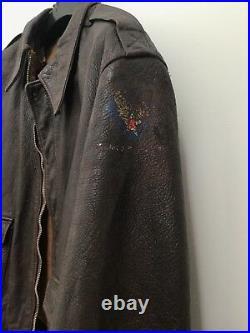 A2 Jacket Ww2 Usaf Flight Jacket Original ww2