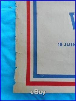 Affiche appel du 18 juin