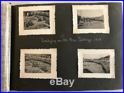 Album 144 photos WW2 Souvenir Occupation Allemande Autographe 1941