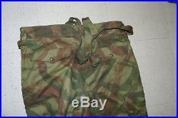 Algerie pantalon t a p 47/56 neuf de stock avec ses bretelles camouflage precoce