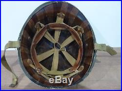 Ancien casque US militaire marine WWII américain