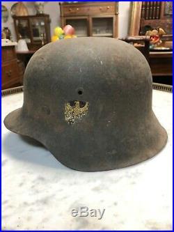 Ancien casque allemand WW2