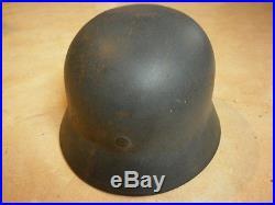 Ancien casque militaire allemand ww2 original german helmet