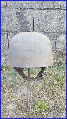 Ancien casque parachutiste Allemand 39/45 WW2 militaria