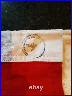 Ancien drapeau propagande Allemande WW2 39-45 militaria