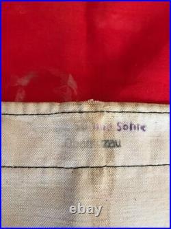 Ancien grand drapeau propagande Allemande WW2 39-45 militaria