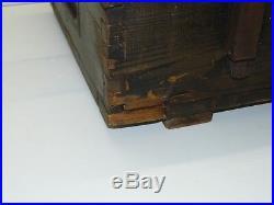 Ancienne Caisse A Munitions Allemande 1941 Ww2 Kasten Fur Sternsignalpatronen