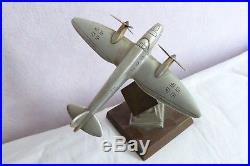 Ancienne Maquette Alu Avion Allemand