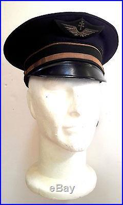 Armée de l'air, casquette d'aviateur France Libre 2e Guerre mondiale
