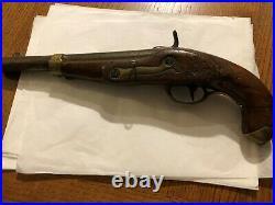 Arme pistolet ancien pour collection vers 1870
