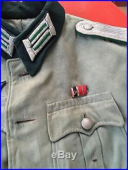 Authentique vareuse d'officier allemand