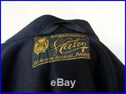 Aviation 1940 Tenue Officier de l'armée de l'air casquette cape Veste pantalon