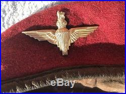 Béret Parachutistes Anglais GB Airborne