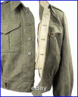 Battledress Canadien -1943- WW2 (matériel original)