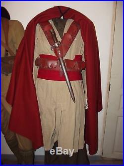 Baudrier cartouchière Spahis cuir strié rouge coloniale 1940. France 40