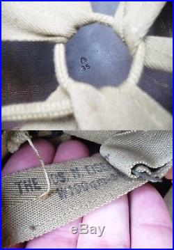 Beau sous casque US M1 liner Gendarmerie libération gendarme prévoté FFL ww2