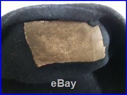 Béret d'officier/ sous-officier de chars de combat campagne de France de 1940