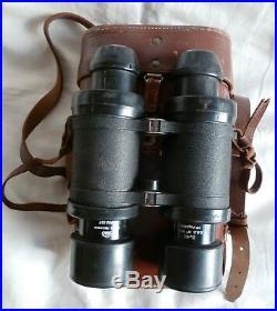 Bino Jumelles Marine Nationale Sgo Huet M. 1953 8x40 Navy Binoculars Original