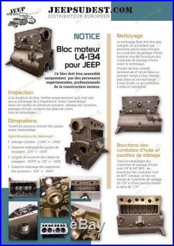 Bloc Moteur JEEP L4-134