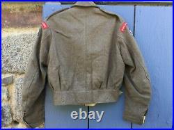 Blouson Battledress GB pattern 40 daté 1945 taille 16