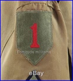 Blouson M38, 1ére division Big Red One -US ARMY WW2 (matériel original)