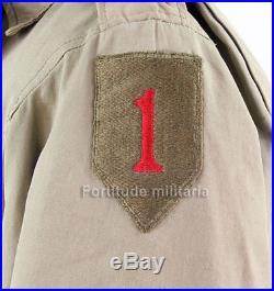 Blouson M41, 1ere Division Big Red One US ARMY WW2 (matériel original)