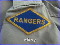 Blouson M41 Us Rangers Original Ww2 Rangers 39/45