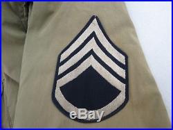 Blouson de combat M41 avec grades ORIGINAL US WWII