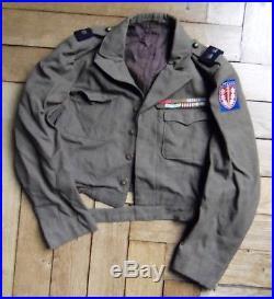 Blouson général brigade Gouvernement Zone occupation Allemagne Berlin 1945