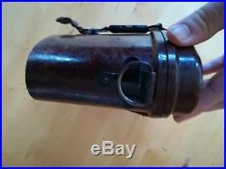 Boite bakelite Allemande, German WW2 6x30 Binoculars Bakelite Case Africa korps
