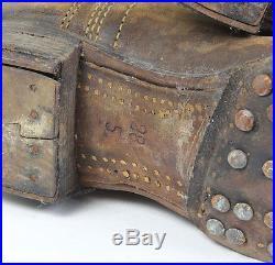 Bottes de cavalerie Wehrmacht ww2 (matériel original)
