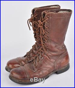 Bottes de saut Airborne US ARMY WW2 (matériel original)