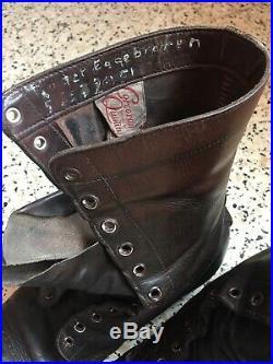 Bottes de saut Corcoran US jump boots Para Us WWII WW2