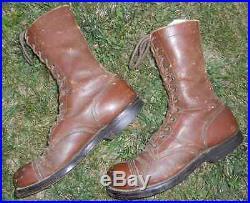 Bottes de saut de parachutiste américain WW2 US jump boots