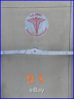 Brancard US ARMY MEDICAL DEPARTMENT us ww2