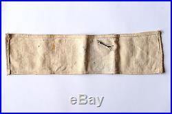 Brassard de FFI, de la Résistance, tamponné, avec insigne. 39-45 WW2 Armband