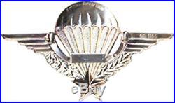 Brevet Parachutiste Legion Etrangere, En Argent Massif A. B 1185 (1013)