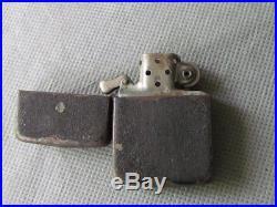 Briquet Zippo Black Crakle Ww2 Zippo Black Crakle Lighter Us 1943 Original