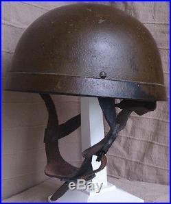 British Paratrooper Helmet 1942 Fibre Rim
