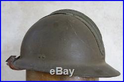 CASQUE ARTILLERIE, beau casque artilleur, casque ww 2, CASQUE ADRIAN, WW II