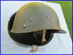 CASQUE DE PARACHUTISTE US WW2 ORIGINAL 1944/1945. 101/ 82e AIRBORNE