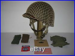 CASQUE USM2 PACK ANNIVERSARY 75th 82nd AIRBORNE