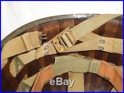 CASQUE US M1 WWII Coque de 1942 et Liner Firestone /Inland HELMET LINER US
