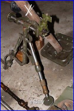 COLLECTOR mortar 60 us ww2. Voir descriptif. Jeep willys
